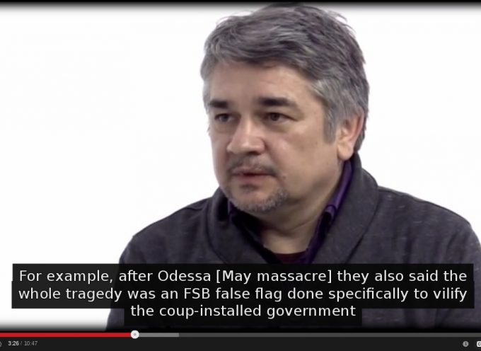 Rostislav Ishchenko about the assassination of Oles' Buzina