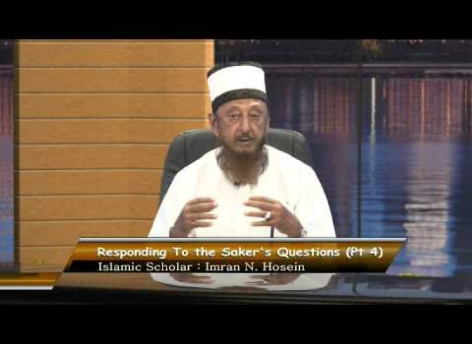 The Saker interviews Sheikh Imran Hosein (part III)