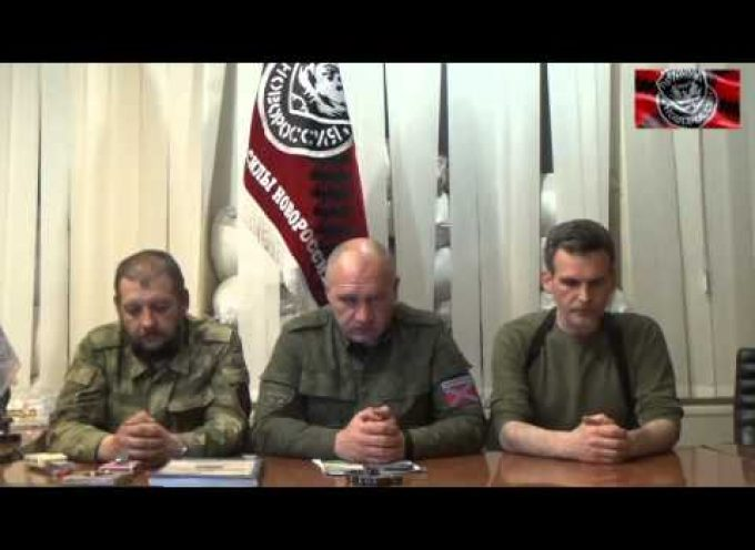 "Important statement of the commanding officers of Mozgovoi's ""Prizrak"" Brigade"