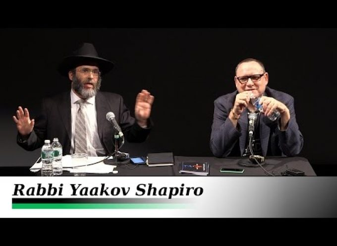 Judaism vs Jewish Identity Politics – Rabbi Yaakov Shapiro and Gilad Atzmon