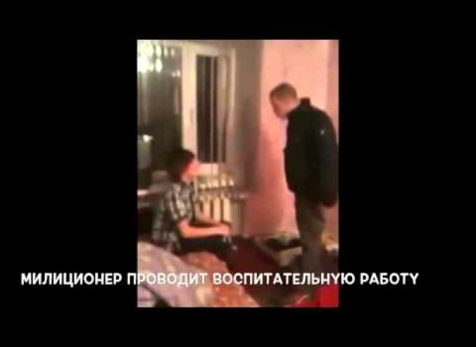 "Policeman / Nazi: ""There's no fascism in Ukraine!"" (Video by Anatoly Sharii)"
