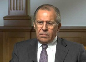 Sergey Lavrov interview to Bloomberg TV