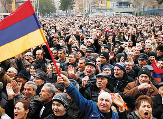 "Is a ""color revolution"" underway in Armenia?"