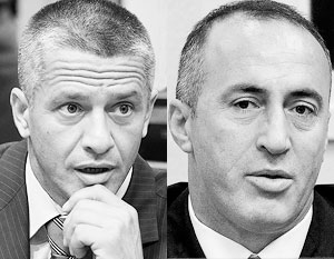 Naser Orić and Ramush Haradinaj