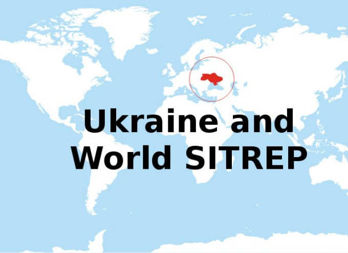 Ukraine and World SITREP January 23rd, 2016 by Baaz