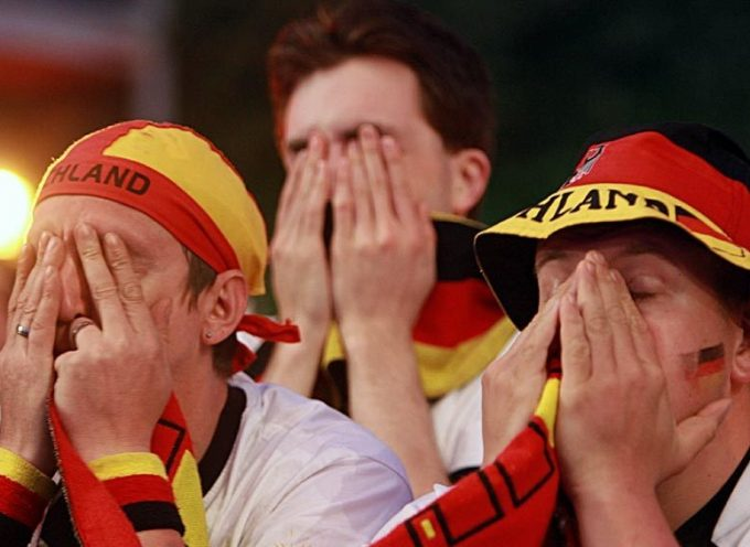 Germany suffers yet another historic defeat