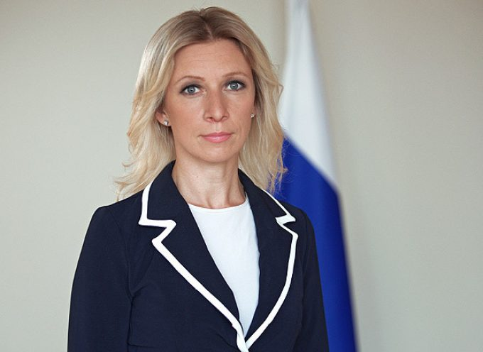 Interview of Maria Zakharova, the newly appointed spokeswoman of the Russian Ministry of Foreign Affairs