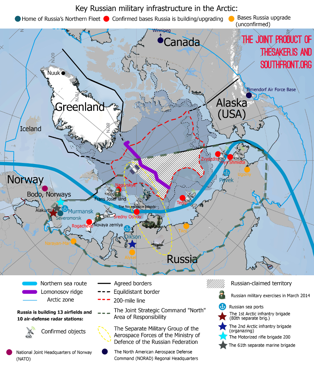 Russian Arctic Military Map final version - small