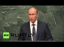 Speech of Russian President Vladimir Putin to the UN 70th General Assembly (Updated with transcript!)