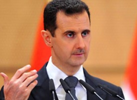 Listening to Bashar al-Assad