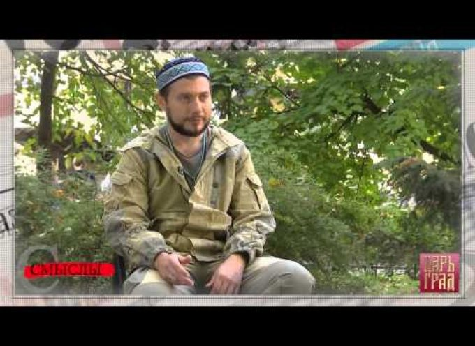 The fighting imam of Donbass (MUST SEE!)