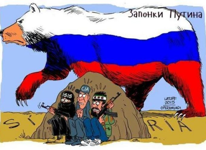 Russian bear in Syria