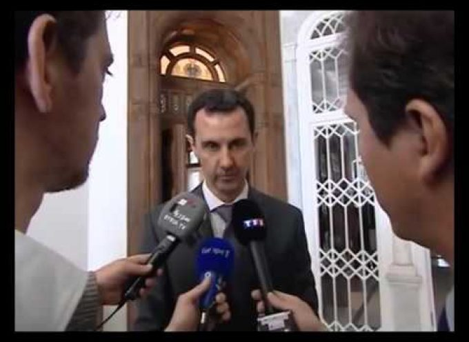 President Bashar al-Assad on Paris Attacks (Interview) | English Subtitles