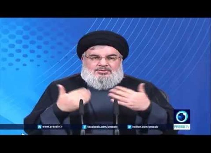 Hezbollah Secretary General Sayyad Hassan Nasrallah speaks about the bombing in Beirut and Paris