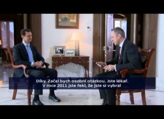 Full Interview with Bashar al-Assad by Czech TV – 1/12/15