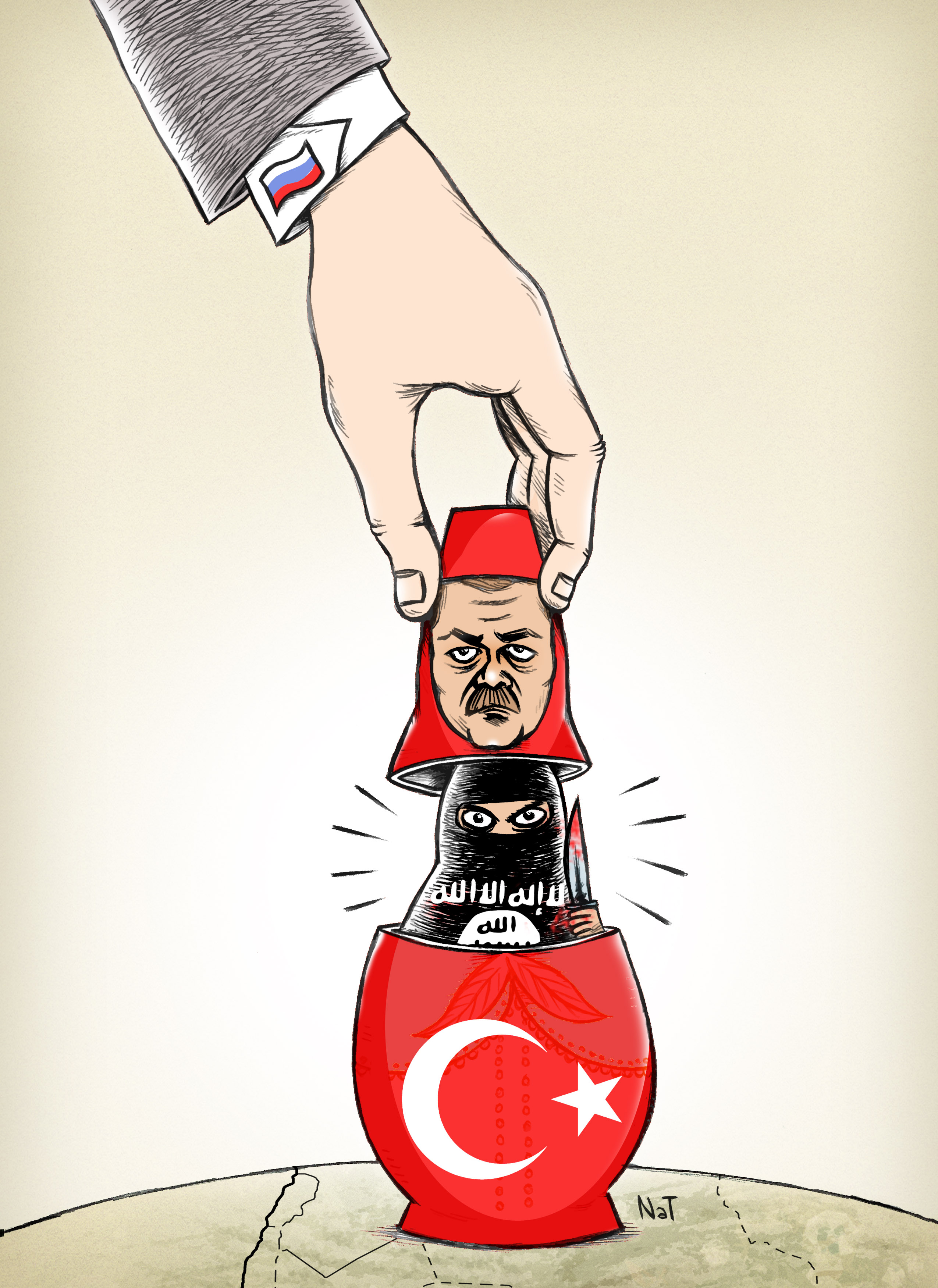 TURKISH DAESH MATRIOSHKA
