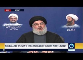 Sayyed Hassan Nasrallah – Speech – January 3, 2016 – Shaykh Nimr Assasination