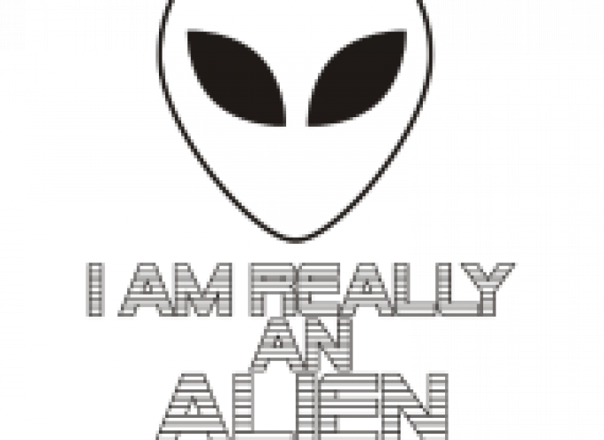 A small reminder and clarification: I am an alien, really :-)