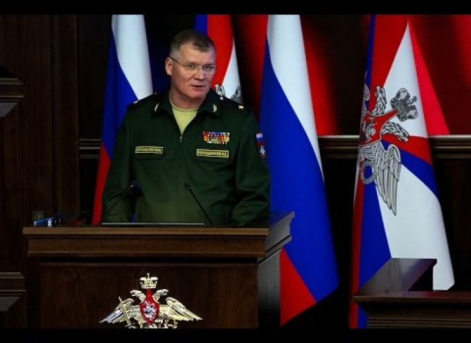 Russian MoD press briefing for February 24th, 2016