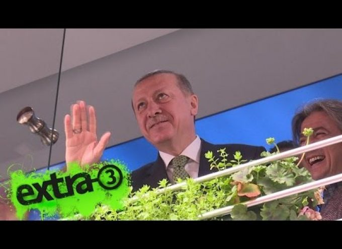 Erdogan is enraged by a German music video about him