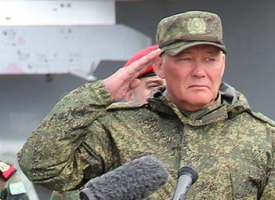 The Commander of the Russian military grouping in Syria gives his first interview