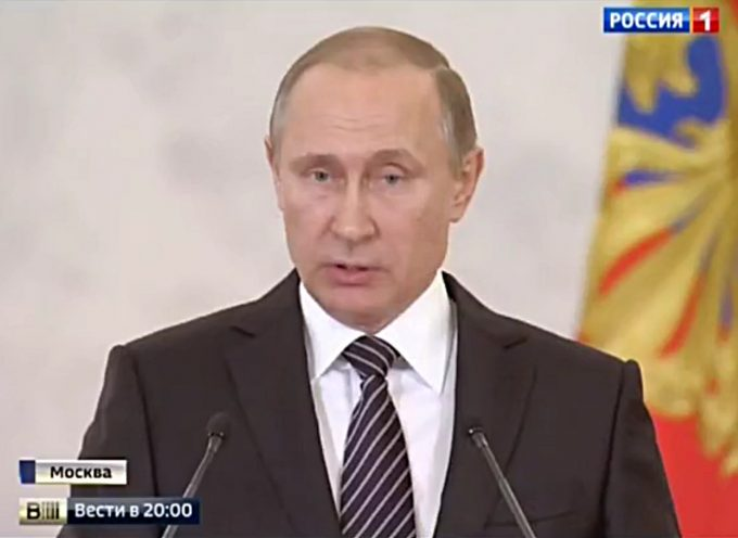 Very important speech of Vladimir Putin
