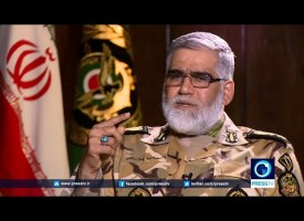 Interview with Ahmad Reza Pourdastan ( Commander of Iranian Army's Ground Forces Brigadier)