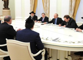 Meeting with President of the World Jewish Congress Ronald Lauder