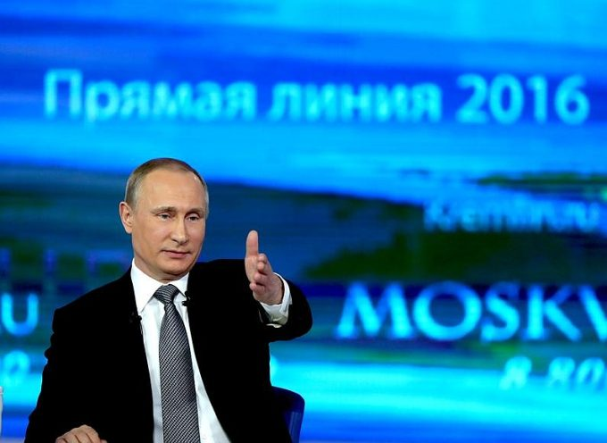 President Putin met with journalists following the Direct Line April14th 2016