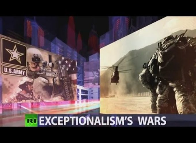 """CrossTalk"" Exceptionalism's wars"