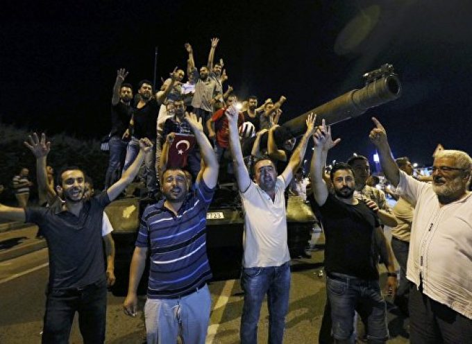 Failed coup in Turkey – a few initial thoughts