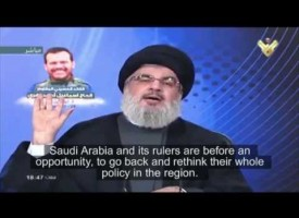 Hezbollah Leader says Saudi Arabia's Wahhabi culture behind world terrorism