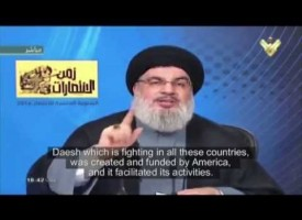 Hezbollah Leader Directs a Message to ISIS & Al-Qaeda – English Subtitles