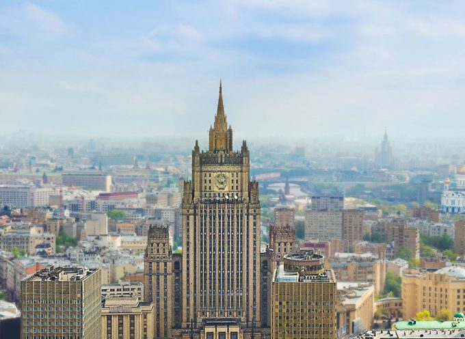 STATEMENT BY THE FOREIGN MINISTRY OF RUSSIA on terror attacks in Crimea