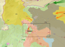 The latest development in northern Syria