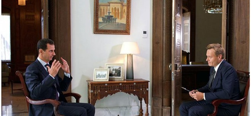 Interview of President al-Assad to Denmark's TV 2: Moderate opposition is a myth…