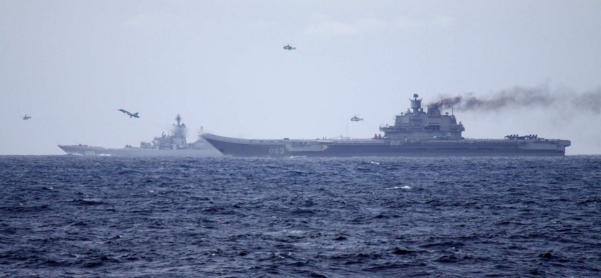 Making sense of the Russian naval task force off the coast of Syria