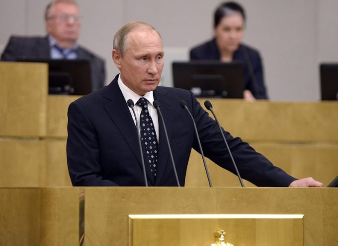 Vladimir Putin addressed State Duma October 5th, 2016