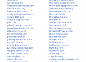 The Saker blog finally blacklisted by the corporate media :-)