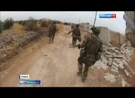 Russian Special Operation forces in Syria (video report)