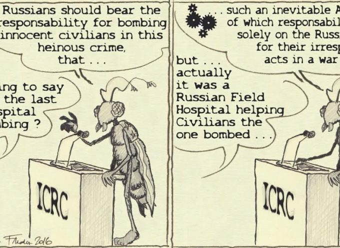 The ICRC should get another Nobel prize, this time for hypocrisy!