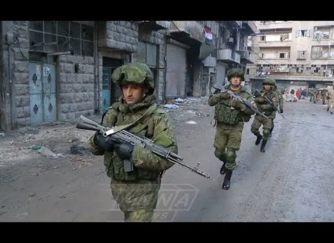 Russian Military Police in Aleppo, Syria (very interesting video with English subs)