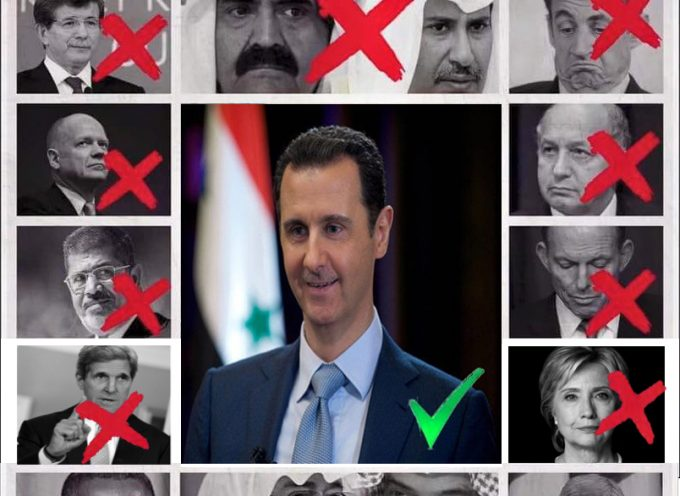 """Assad must go!"" – fail :-)"