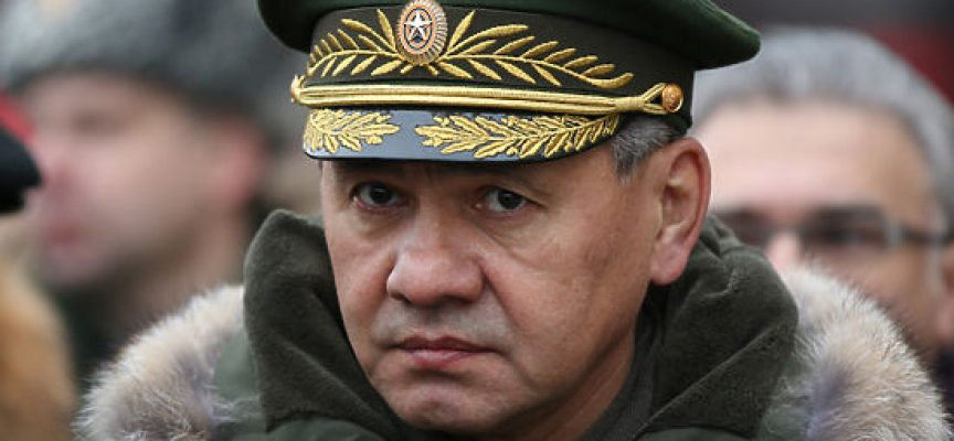 Statement by the Minister of Defence of the Russian Federation General of the Army Sergei Shoigu