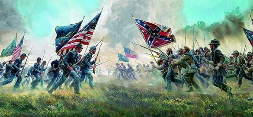 the causes and incidents that started the american civil war