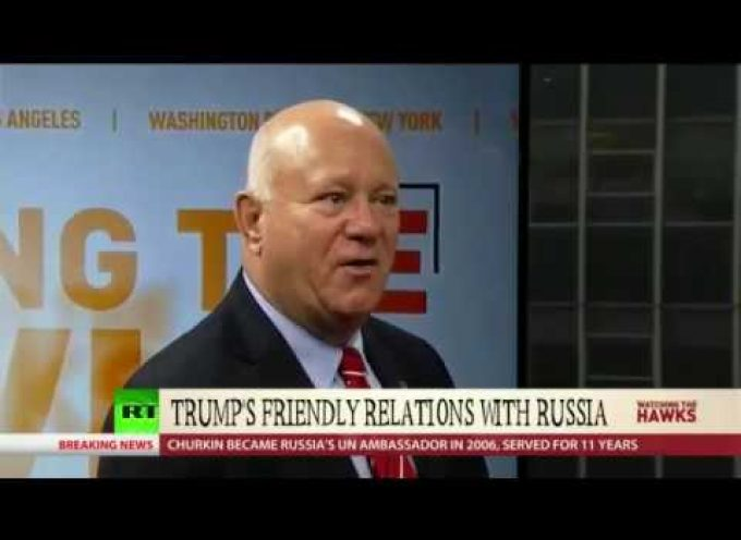 A former (?) Mossad officer predicts that Trump will be impeached on grounds of treason