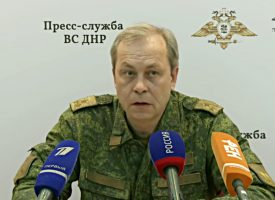 High risk of imminent large scale military operations in the Donbass