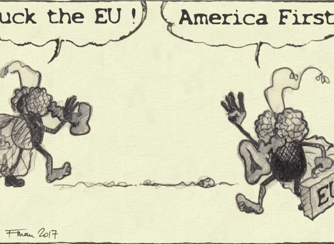 F. the EU! – America first!