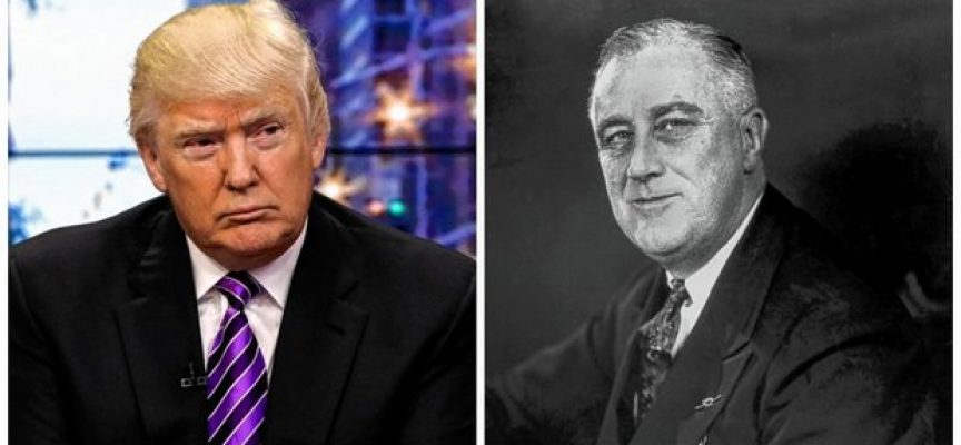 The uncanny similarities between Presidents Donald Trump and Franklin Delano Roosevelt