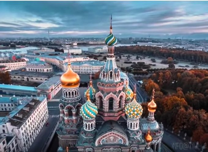 A bird's-eye view of Russia